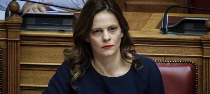 Εφη Αχτσόγλου/Φωτογραφία: Eurokinissi
