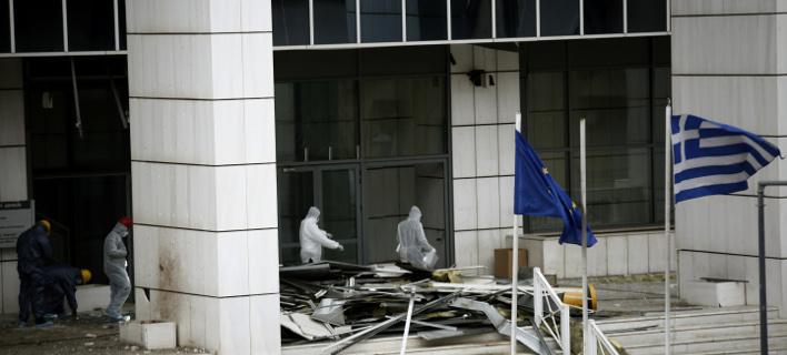 Έκρηξη στο Εφετείο Αθηνών, Φωτογραφία: Eurokinissi
