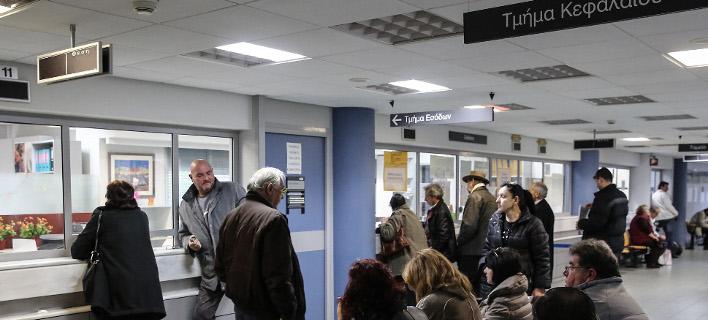 Πολίτες στην εφορία γιανα ρυθμίσουν τις οφειλές τους -Φωτογραφία αρχείου: Intimenews/ΛΙΑΚΟΣ ΓΙΑΝΝΗΣ