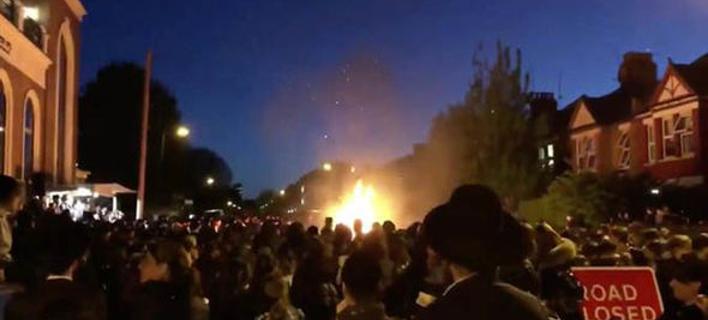 Εκρηξη στο βόρειο Λονδίνο/ Φωτογραφία: Facebook