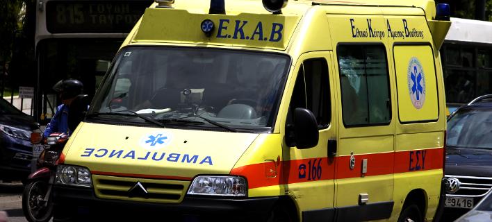Ο άνδρας κατέληξε στο νοσοκομείο (Φωτογραφία αρχείου: EUROKINISSI/ ΓΙΩΡΓΟΣ ΚΟΝΤΑΡΙΝΗΣ)