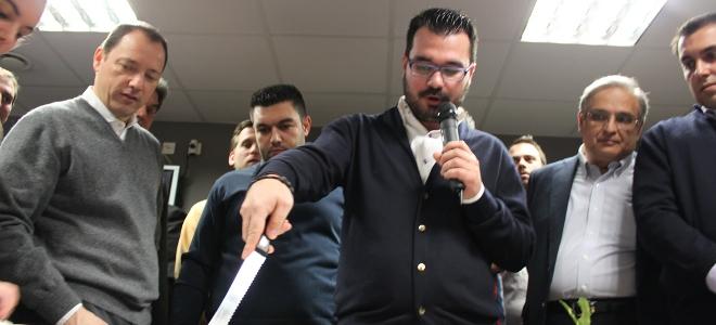 Πρεμιέρα για τον Ανδρέα Ψυχάρη σε κομματική εκδήλωση της ΟΝΝΕΔ [εικόνες]