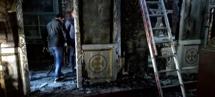 Γιάννενα: Τζουμέρκα - Σοβαρές ζημιές από φωτιά σε ιερό ναό που έχει χαρακτηριστεί μνημείο
