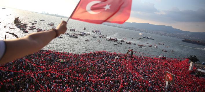 Τουρκία συγκέντρωση για εκλογές/ Φωτογραφία AP images