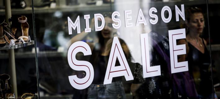 Ανοιχτά τα καταστήματα σήμερα, στο πλαίσιο των εκπτώσεων (Φωτογραφία: EUROKINISSI/ΓΙΑΝΝΗΣ ΠΑΝΑΓΟΠΟΥΛΟΣ)