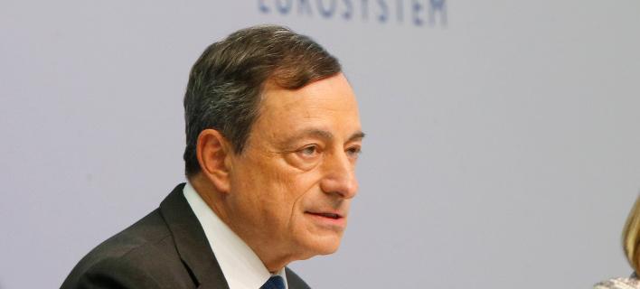 Ο επικεφαλής της ΕΚΤ, Μάριο Ντράγκι/Φωτογραφία: AP