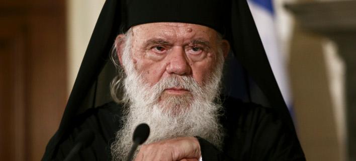 Ο Αρχιεπίσκοπος Ιερώνυμος (Φωτογραφία: IntimeNews/ΤΖΑΜΑΡΟΣ ΠΑΝΑΓΙΩΤΗΣ)