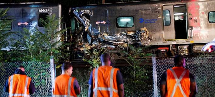 Τουλάχιστον 100 τραυματίες σε εκτροχιασμό τρένου στο Λονγκ Αιλαντ