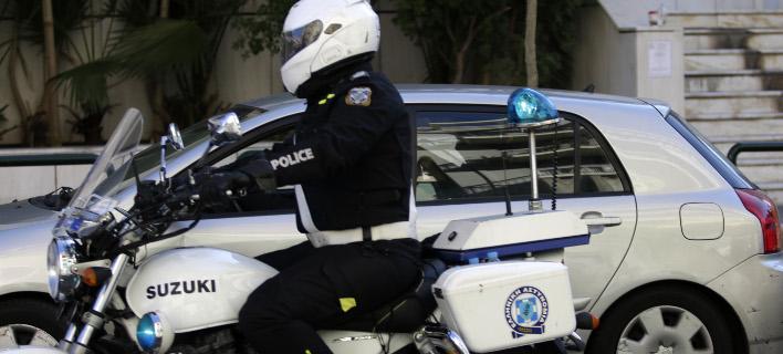 Η αστυνομία αναζητά τους δράστες (Φωτογραφία αρχείου: EUROKINISSI/ΓΙΑΝΝΗΣ ΠΑΝΑΓΟΠΟΥΛΟΣ)
