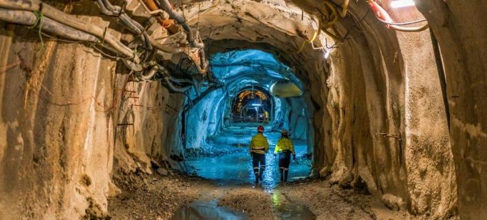 Τα ορυχεία της Eλληνικός  Χρυσός