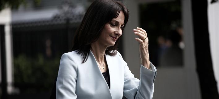 Η υπουργός Τουρισμού Ελενα Κουντουρά / Φωτογραφία: SOOC