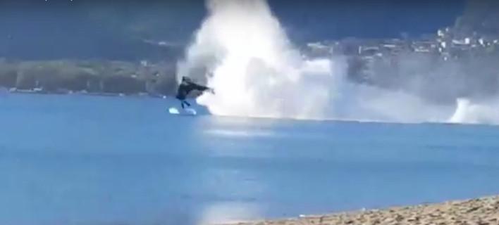 Βίντεο ντοκουμέντο: Καρέ-καρέ η πτώση του στρατιωτικού ελικοπτέρου Απάτσι