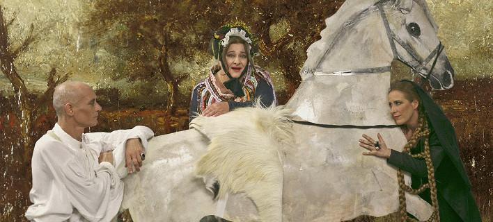 H «Αρκούδα» του Τσέχωφ από το Εθνικό σε συνεργασία με τον ΟΑΣΑ