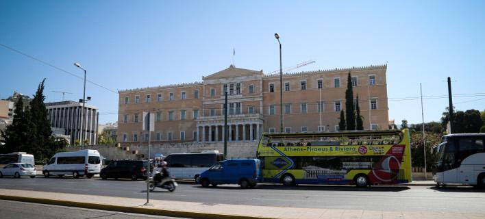 Το κτίριο της Βουλής/Φωτογραφία: Eurokinissi