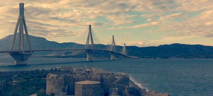 Ο γύρος της Πελοποννήσου με ένα drone -Ανεπανάληπτα πλάνα [βίντεο]