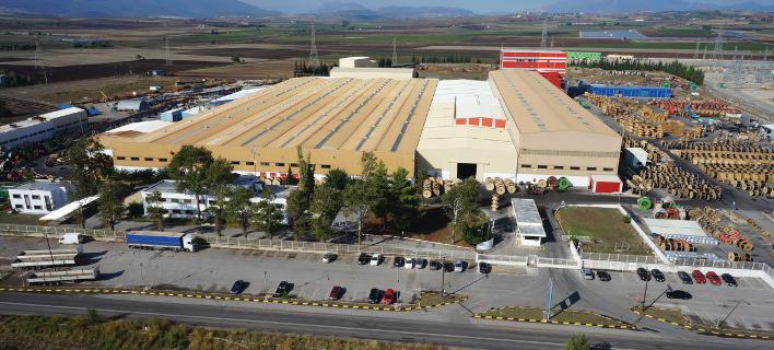 Το εργοστάσιο της Ελληνικά Καλώδια στη Θήβα