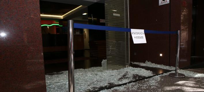 Επίθεση στην Ελληνοαμερικανική Ενωση /Φωτογραφία: Intime news