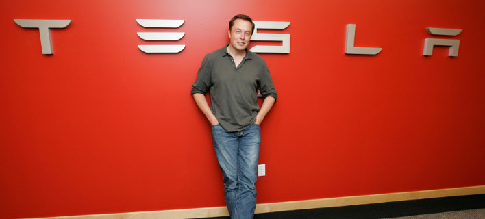 Ο διευθύνων σύμβουλος της Tesla, Έλον Μασκ. Φωτογραφία: AP