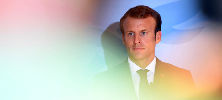 Άσχημα τα δημοσκοπικά μαντάτα για τον Γάλλο πρόεδρο, Εμανουέλ Μακρόν (Φωτογραφία: ΑΡ)