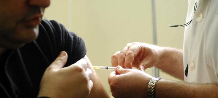 εμβόλιο για τη γρίπη/Φωτογραφία: Eurokinissi