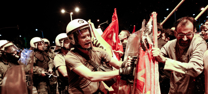 Θεσσαλονίκη: Επεισόδια και ένας τραυματίας πριν την ομιλία Τσίπρα [εικόνες & βίντεο]