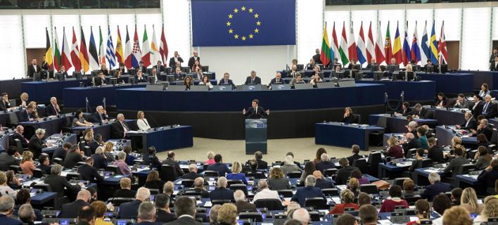 Ολομέλεια του Ευρωπαϊκού Κοινοβουλίου /Φωτογραφία: ΑΡ