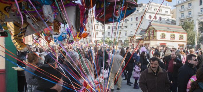 εορταστικό ωράριο-Θεσσαλονίκη/Φωτογραφία: Eurokinissi
