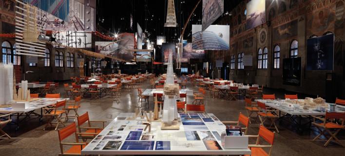 Εκθεση με μακέτες του αρχιτέκτονα Ρέντσο Πιάνο στο Κέντρο Πολιτισμού Ιδρυμα Νιάρχος [εικόνες]