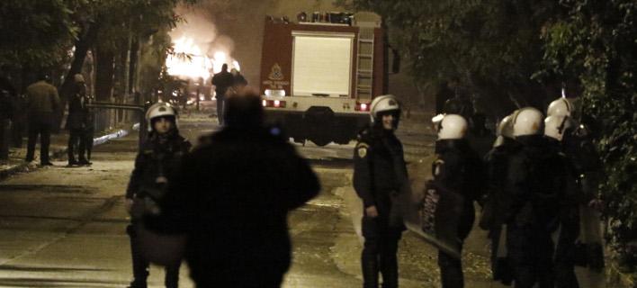 Αναβλήθηκε η δίκη των συλληφθέντων για τα επεισόδια στα Εξάρχεια (Φωτογραφία: EUROKINISSI/ΓΙΩΡΓΟΣ ΚΟΝΤΑΡΙΝΗΣ)