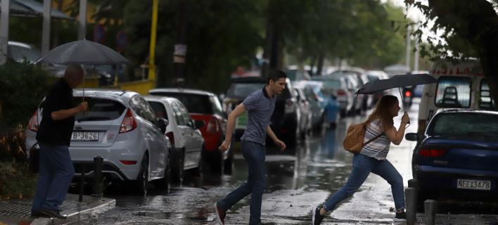 επιδείνωση καιρού/Φωτογραφία: Eurokinissi/ΦΑΝΗ ΤΡΥΑΝΗ
