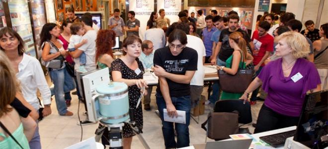 Τριήμερο Φεστιβάλ Επιστήμης και Τεχνολογίας 2012 στο Εθνικό Ίδρυμα Ερευνών