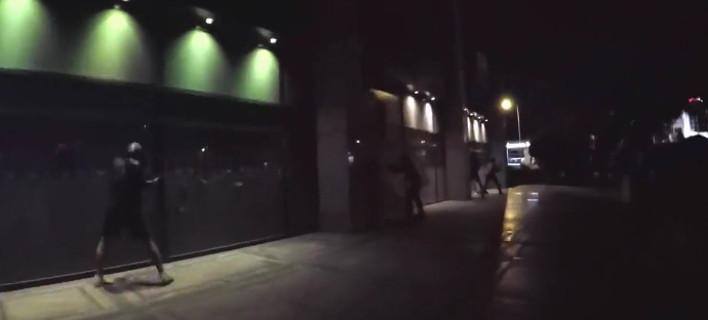 Επίθεση του Ρουβίκωνα σε κατάστημα μεγάλης αλυσίδας -Με βαριοπούλες