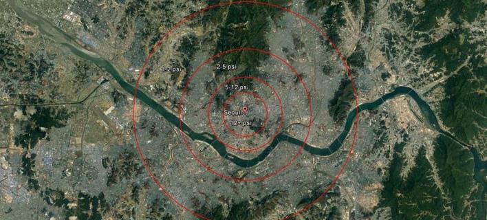 Τρόμο προκαλεί το σενάριο επίθεσης από τη Β. Κορέα (Φωτογραφία: North38)