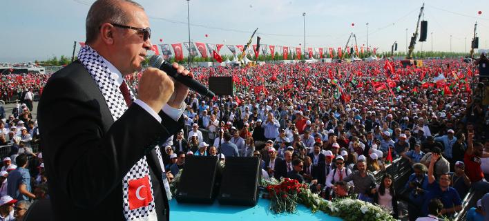 Ερντογάν/ Φωτογραφία: AP