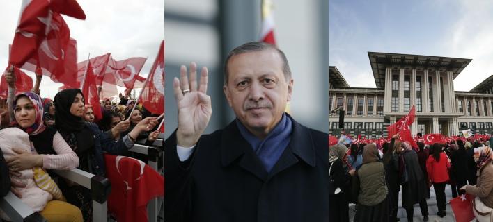 Φωτογραφίες: AP Photo/Burhan Ozbilici