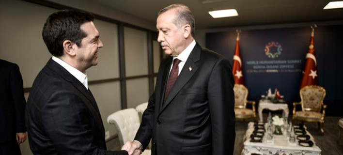 Ερντογάν σε Τσίπρα: Πού είναι η γραβάτα που σου χάρισα; - Τι του απάντησε ο πρωθυπουργός [βίντεο]