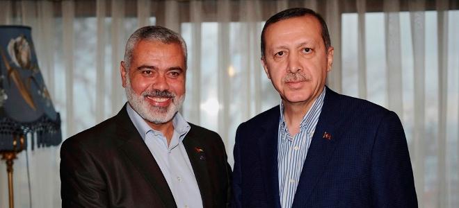 Με τον ηγέτη της Χαμάς συναντήθηκε ο Ερντογάν