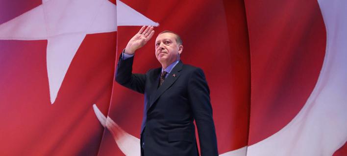 Ο Τούρκος πρόεδρος, Ρετζέπ Ταγίπ Ερντογάν/Φωτογραφία: ΑΡ