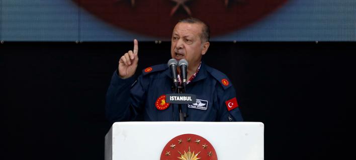 Ρετζέπ Ταγίπ Ερντογάν (Φωτογραφία: Emrah Gurel/AP)
