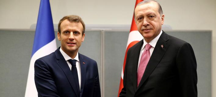 Στη Γαλλία θα βρεθεί την ερχόμενη Παρασκευή ο Ερντογάν. Φωτογραφία: AP