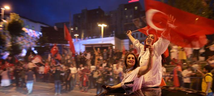Νίκη Ερντογάν από τον πρώτο γύρο -Φωτογραφίες: AP