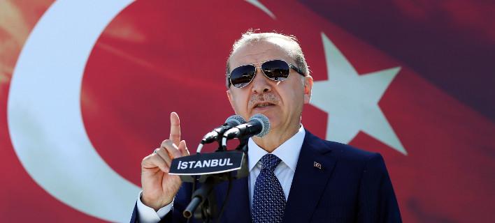 Η Τουρκία προειδοποιεί: Θα ξεσπάσει παγκόσμια σύρραξη αν διαλυθεί Ιράκ και Συρία/ Φωτογραφία: AP
