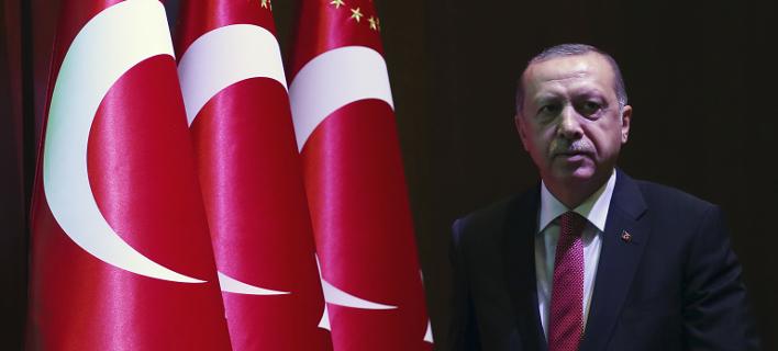 Ο Ταγίπ Ερντογάν/ Φωτογραφία: AP