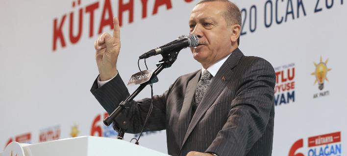 Ο Ταγίπ Ερντογάν (Φωτογραφία: AP/ Kayhan Ozer)