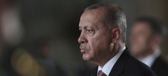 Ο Ταγίπ Ερντογάν (Φωτογραφία: AP/ Burhan Ozbilici)