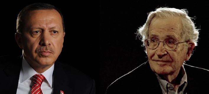 Δημόσιος καυγάς Ερντογάν - Τσόμσκι: «Είσαι αδαής», «Εσύ ευθύνεσαι για την κρίση»