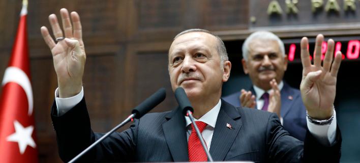 Από Δευτέρα 9/7/2018, η Τουρκία μετατρέπεται σε Προεδρική Δημοκρατία -Φωτογραφία: AP Photo/Burhan Ozbilici