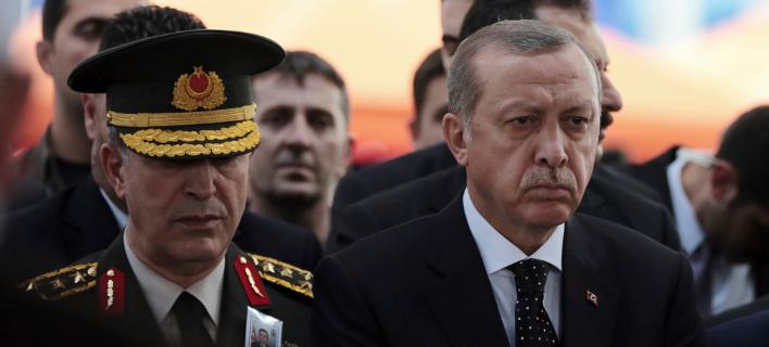 Ο Ερντογάν ρισκάρει κλιμάκωση στη Μεσόγειο -Φωτογραφία: AP