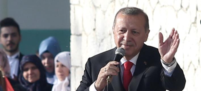Ο Τούρκος πρόεδρος στην Κομοτηνή -Φωτογραφία: Intimenews