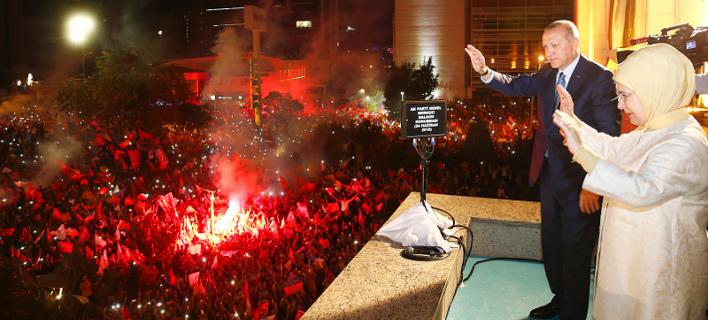 Νίκη Ερντογάν/ Φωτογραφία:AP